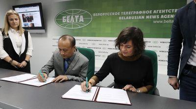 БЕЛТА и индонезийская медиасеть Jawa Pos заключили соглашение о сотрудничестве