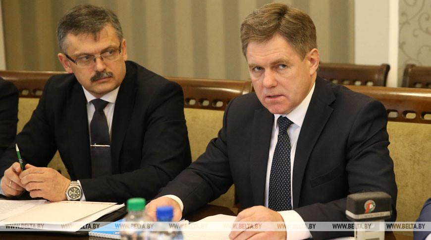 Заседание оргкомитета по обеспечению подготовки и участия белорусских спортсменов в XXXII летних Олимпийских играх и XVI летних Паралимпийских играх