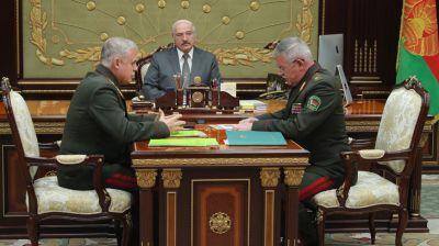 Лукашенко обсудил с Засем и Лаппо сотрудничество с Россией на общей границе
