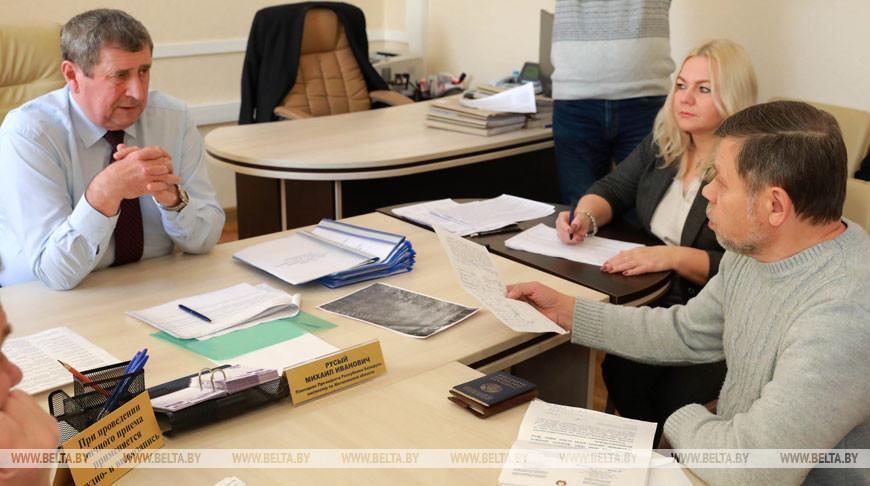 Русый провел прием граждан в Могилеве