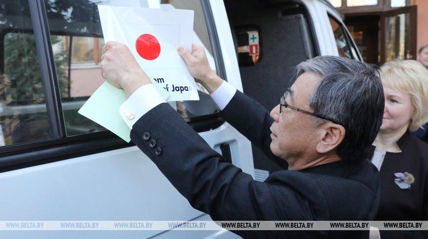"""Посольство Японии продолжит реализацию в Беларуси проектов программы """"Корни травы"""""""