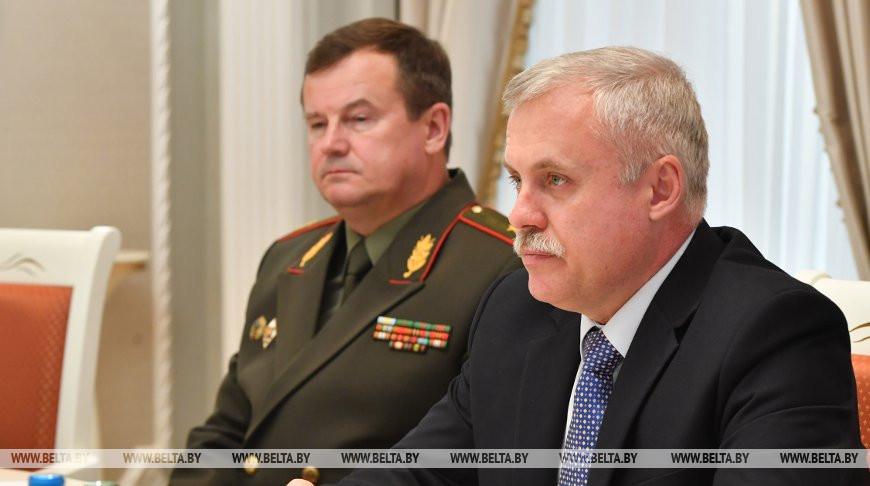 Беларусь и Узбекистан обсудили сотрудничество в военной сфере