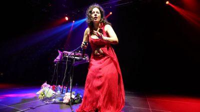 Перукуа выступила с концертом в Минске