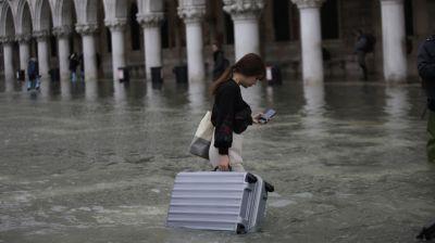 Вода в Венеции может подняться до 160 см - синоптики