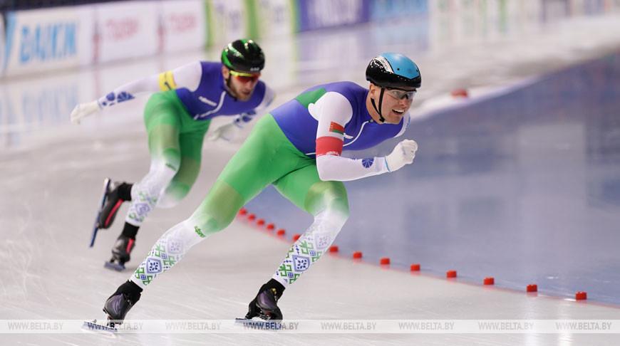 Первый этап Кубка мира по конькобежному спорту проходит в Минске
