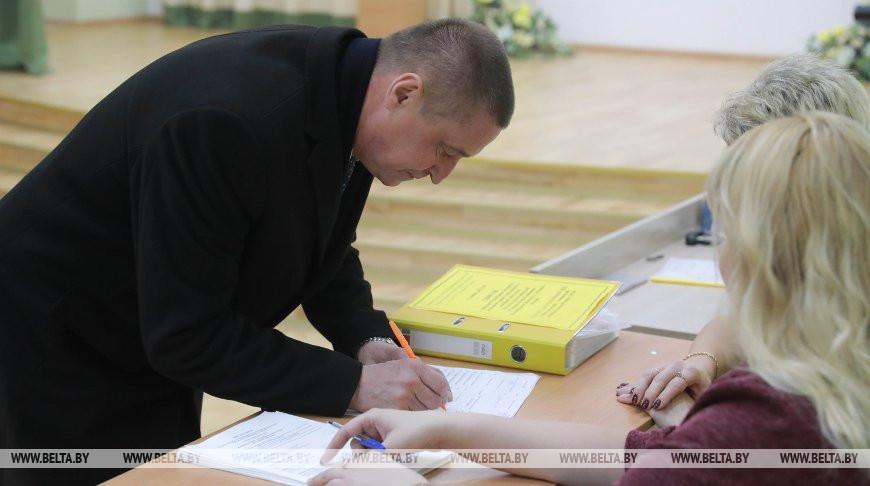 Леонид Заяц принял участие в досрочном голосовании