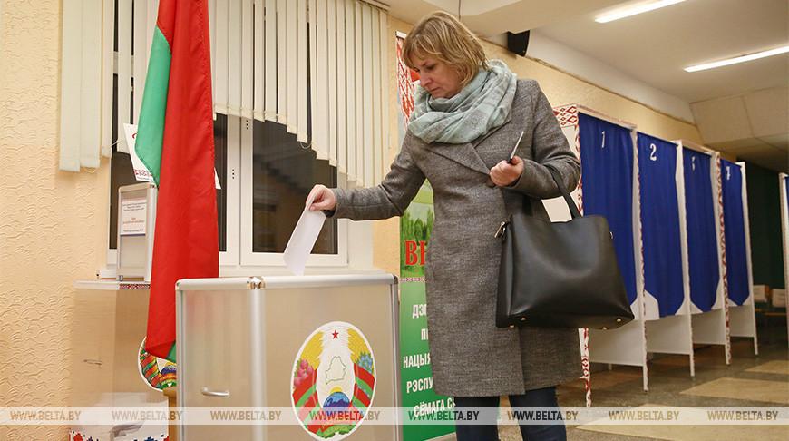 Голосование на выборах депутатов проходит в Гродно