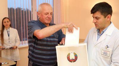 В Гомельском областном клиническом кардиологическом центре завершилось голосование