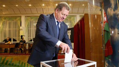 В Бресте идет голосование