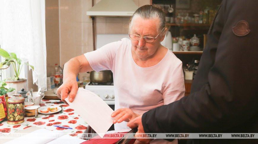 Выездное голосование на выборах депутатов проходит в Брестском районе