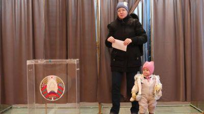 Явка избирателей в Витебской области на 12.00 превысила 50%