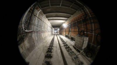 """Щит """"Алеся"""" завершил проходку второго тоннеля от станции метро """"Вокзальная"""" до """"Ковальской Слободы"""""""