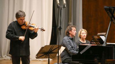 Известные румынские музыканты выступили в Белгосфилармонии