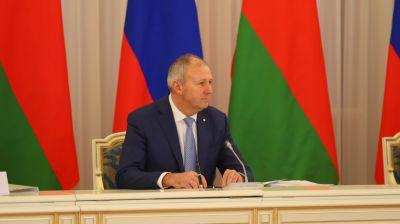 Румас принял участие в заседании Совета Министров Союзного государства в Москве