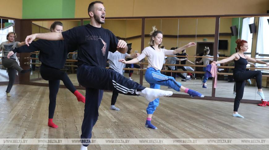 Мастер-класс итальянского хореографа прошел в Витебске