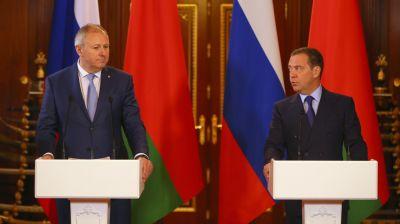 Румас и Медведев сняли не менее половины разногласий по интеграционным дорожным картам