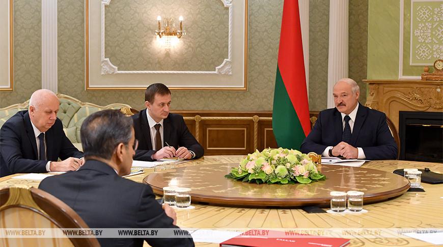 Лукашенко встретился с председателем совета директоров инвестиционной компании Emaar Propertie