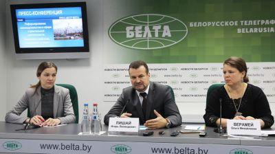 Пресс-конференция о законодательстве в сфере строительной деятельности прошла в БЕЛТА