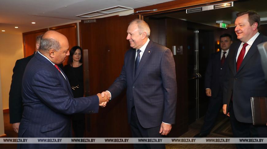 Румас встретился с президентом ЕБРР Сумой Чакрабарти
