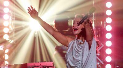 Тина Кароль выступила в Минске