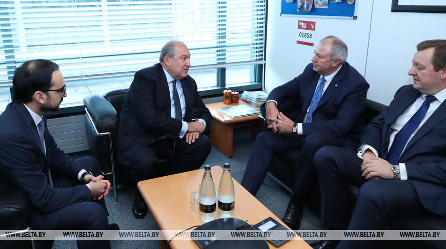 Румас встретился с президентом Армении