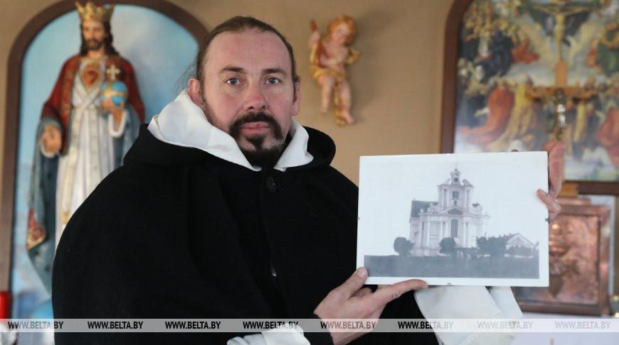 В Сенно строят копию уничтоженного после войны костела