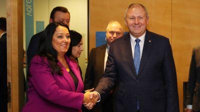 Румас встретился с вице-президентом Европейского инвестиционного банка