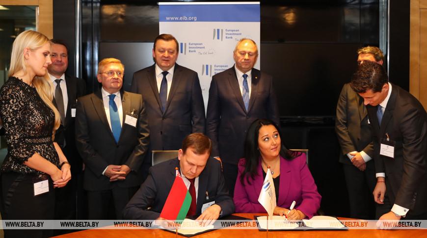 Инвестиционный портфель ЕИБ в Беларуси вырос до 550 млн евро