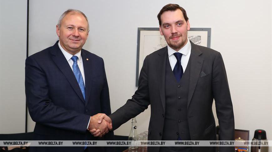 Беларусь предлагает Украине проработать конкретные совместные проекты для роста экономики