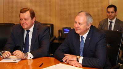 Румас считает важным активизировать контакты Беларуси и Молдовы на уровне правительств