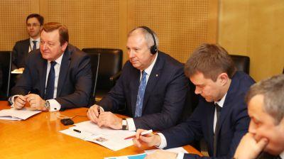 Румас встретился с первым вице-президентом ЕБРР Юргеном Ригтеринком