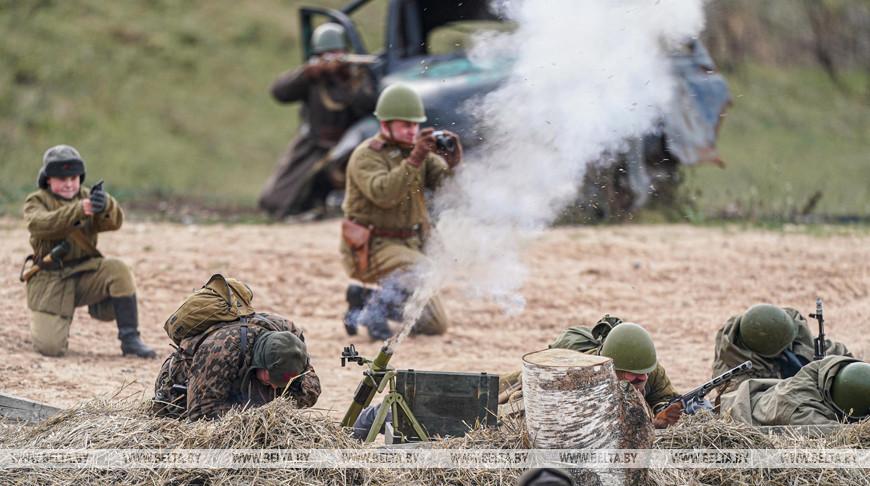 """День артиллериста отпраздновали на """"Линии Сталина"""""""