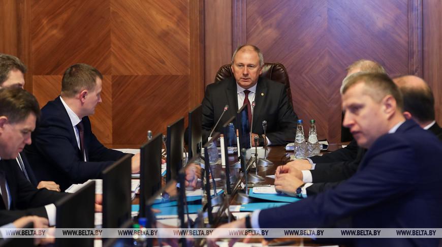 Румас провел заседание Президиума Совета Министров