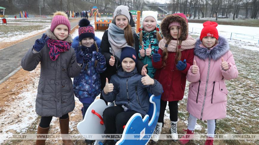 Инклюзивный детский парк открылся в Витебске