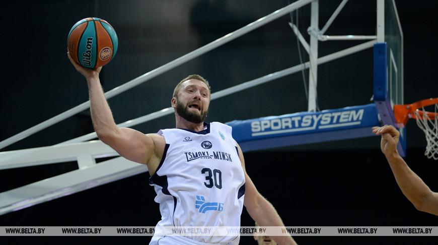 """Баскетболисты """"Цмокi-Мiнск"""" пробились во 2-й групповой этап Кубка ФИБА-Европа"""