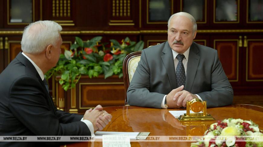 Лукашенко встретился с Мясниковичем