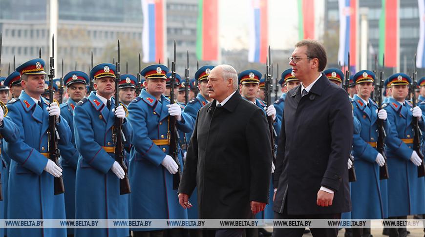 Лукашенко и Вучич провели переговоры в Белграде
