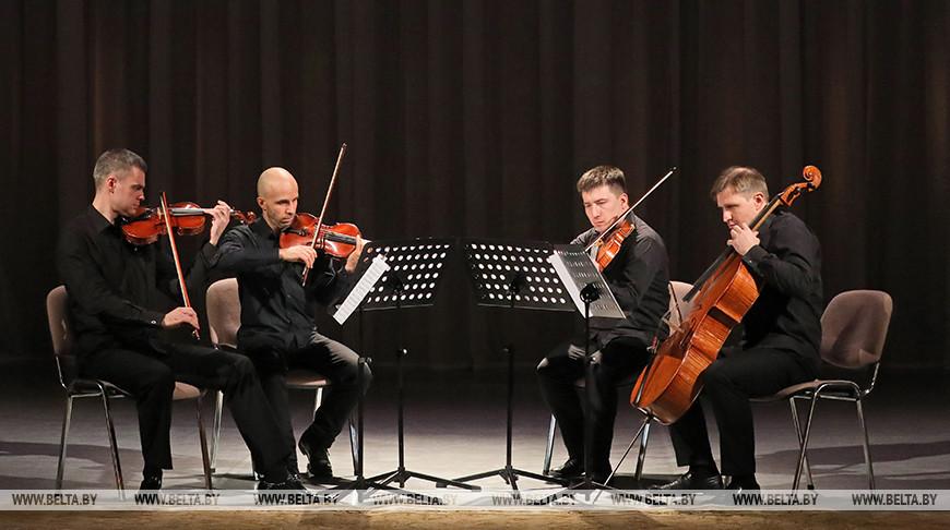 Концертом струнного квартета открыли фестиваль Соллертинского в Витебске