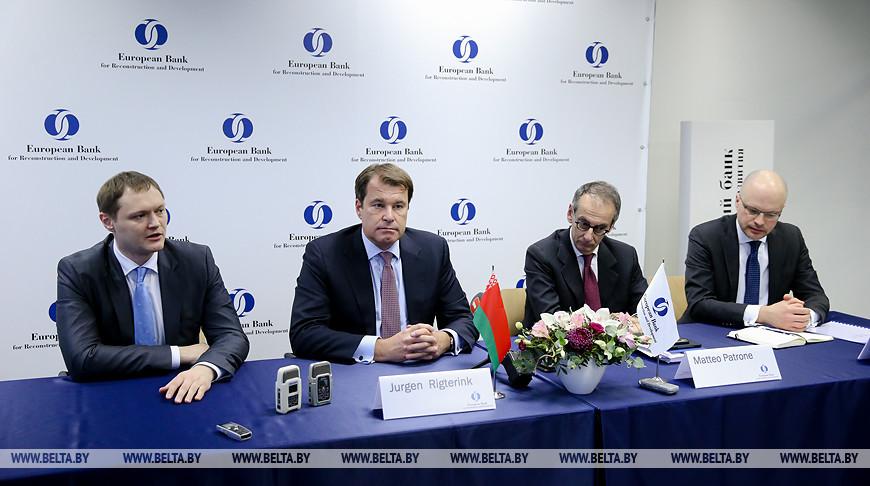 ЕБРР в 2019 году превысит прошлогодний рекорд по инвестированию в экономику Беларуси - Ригтеринк