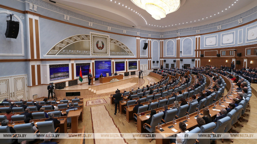 Лукашенко: в Беларуси сформирован по-настоящему работоспособный представительный и законодательный орган