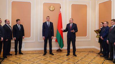 Первого вице-премьера представили коллективу Совета Министров