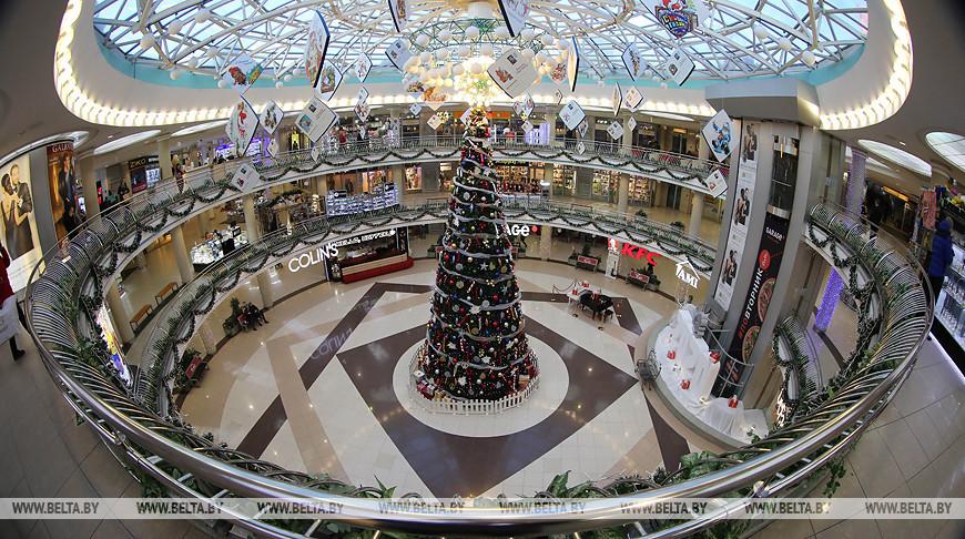 """Новогодняя елка в ТЦ """"Столица"""""""