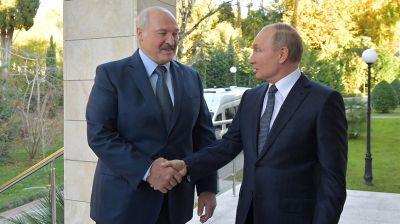 Лукашенко на переговорах с Путиным: не просим ничего, только равные условия