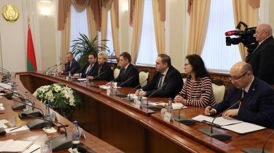 Петришенко встретился с заместителем Генерального секретаря ООН, исполнительным директором ЮНФПА Наталией Канем