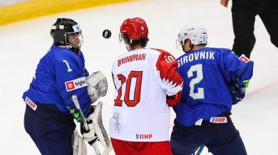 Сборная Дании в овертайме победила Словению на молодежном ЧМ по хоккею в Минске