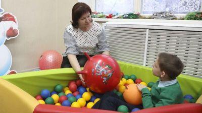 Петришенко посетил Центр коррекционно-развивающего обучения и реабилитации в Лепельском районе