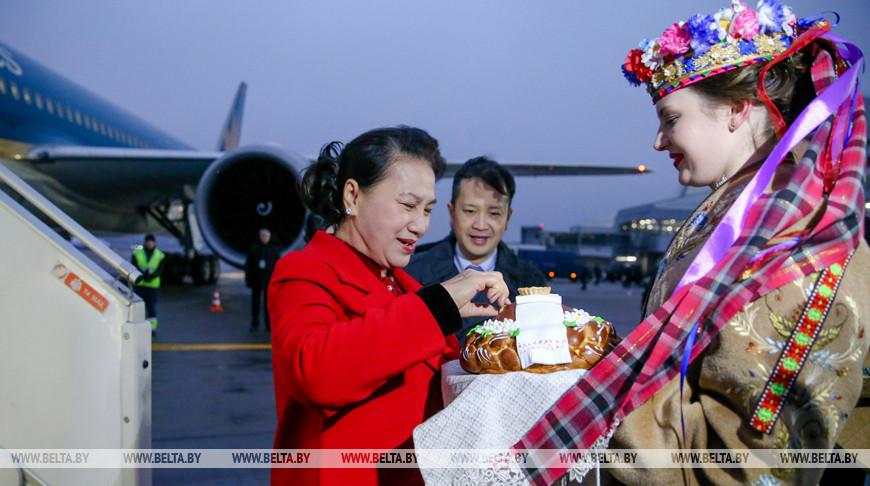 Парламентская делегация Вьетнама прибыла с визитом в Беларусь