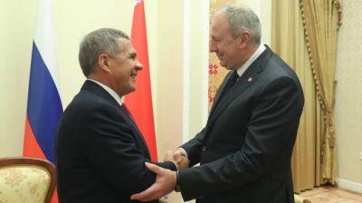 Румас встретился с Президентом Татарстана