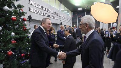 Макей познакомил дипломатов с возможностями Беларуси в IT-сфере