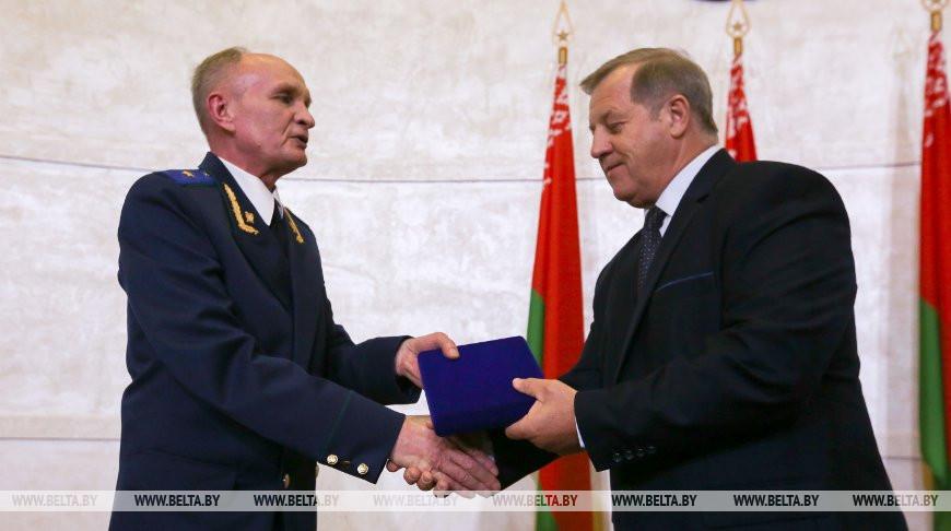 Лис принял участие в торжественном мероприятии в честь 80-летия прокуратуры Брестской области